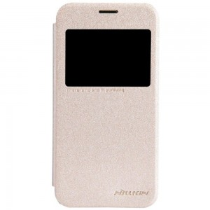Samsung Galaxy S5 Mini - etui na telefon - Nillkin Sparkle złote