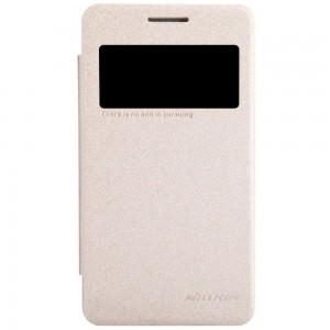 Samsung Galaxy Core 2 - etui na telefon - Nillkin Sparkle złote