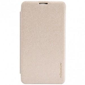Nokia Lumia 530 - etui na telefon - Nillkin Sparkle złote