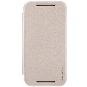 Motorola Moto G2 - etui na telefon - Nillkin Sparkle złote