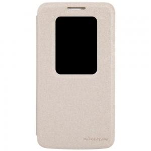 LG G2 Mini - etui na telefon - Nillkin Sparkle złote