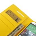 HTC One M8 Portfel Etui – Sonata Żółty
