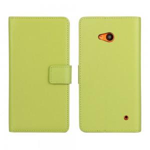 Microsoft Lumia 640 LTE - etui na telefon i dokumenty - zielone
