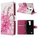 LG G4c H525 Portfel Etui – Kwiaty 2
