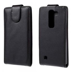 LG G4c H525 - etui na telefon i dokumenty - czarne