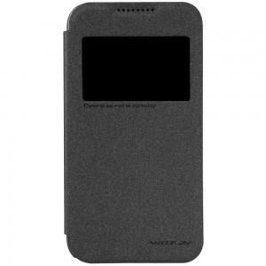 HTC Desire 320 - etui na telefon - Nillkin Sparkle czarne