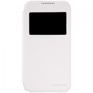 HTC Desire 320 - etui na telefon - Nillkin Sparkle białe