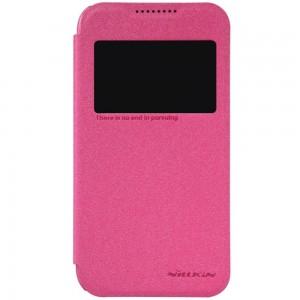HTC Desire 320 - etui na telefon - Nillkin Sparkle różowe