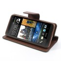 HTC One Mini Portfel Etui – Fancy Czarne