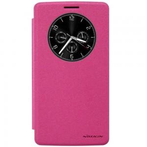 LG G4 Stylus - etui na telefon - Nillkin Sparkle różowe