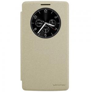 LG G4 Stylus - etui na telefon - Nillkin Sparkle złote