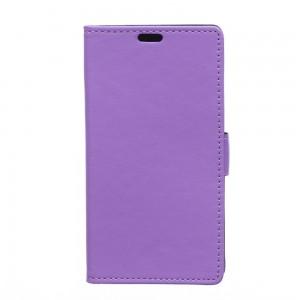 Huawei Y360 - etui na telefon i dokumenty - Litchi purpurowe