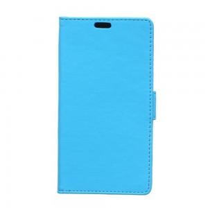 Huawei Y360 - etui na telefon i dokumenty - Litchi niebieskie