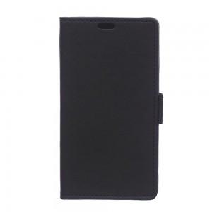 Huawei Y360 - etui na telefon i dokumenty - Litchi czarne