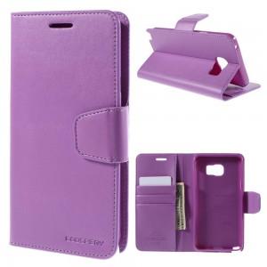 Samsung Galaxy Note 5 - etui na telefon i dokumenty - Sonata purpurowe