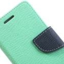 HTC One Mini Portfel Etui – Fancy Cyjan