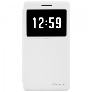 Huawei Honor 7 - etui na telefon - Nillkin Sparkle białe