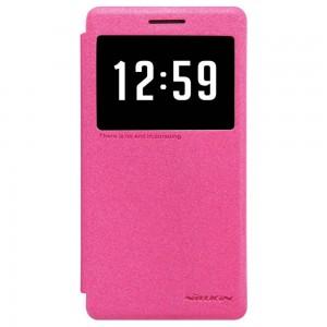 Huawei Honor 7 - etui na telefon - Nillkin Sparkle różowe