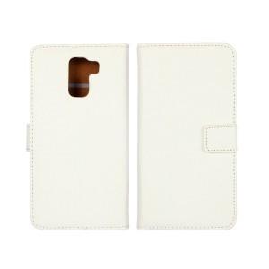 Huawei Honor 7 - etui na telefon i dokumenty - białe