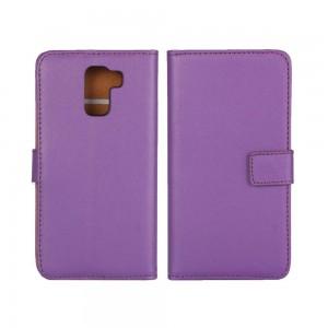 Huawei Honor 7 - etui na telefon i dokumenty - purpurowe