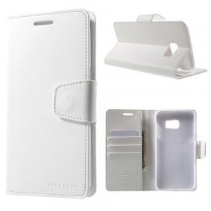Samsung Galaxy S6 Edge+ 5.7″ - etui na telefon i dokumenty - Sonata białe
