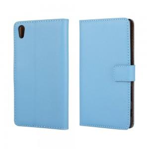 Sony Xperia Z5 - etui na telefon i dokumenty - niebieskie