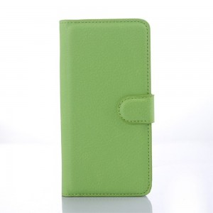 HTC Desire 626 - etui na telefon i dokumenty - Litchi zielone