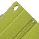 HTC Desire 816 Portfel Etui – Fancy Zielone