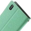 HTC Desire 816 Portfel Etui – Fancy Cyjan