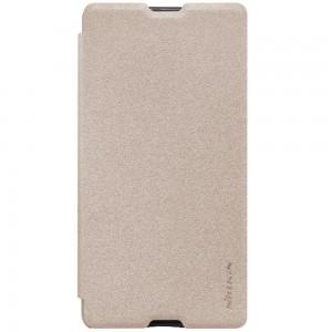 Sony Xperia M5 - etui na telefon - Nillkin Sparkle złote