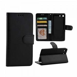 Sony Xperia M5 - etui na telefon i dokumenty - CH czarne