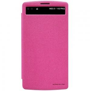 LG V10 - etui na telefon - Nillkin Sparke różowe