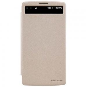 LG V10 - etui na telefon - Nillkin Sparke złote