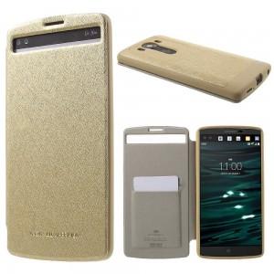 LG V10 - etui na telefon - Wow Bumper złote