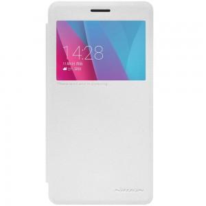 Huawei Honor 5X - etui na telefon - Nillkin Sparkle białe