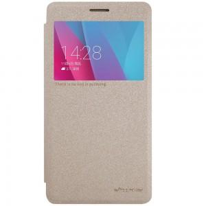 Huawei Honor 5X - etui na telefon - Nillkin Sparkle złote