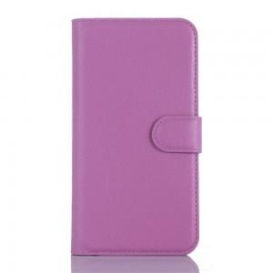 Microsoft Lumia 650 - etui na telefon i dokumenty - purpurowe