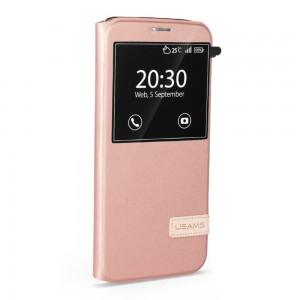 Samsung Galaxy S7 Edge - etui na telefon - USAMS Muge złota róża