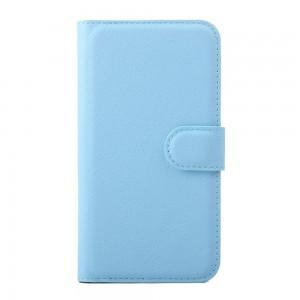 Huawei Y5 - etui na telefon i dokumenty - niebieskie