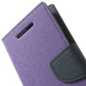 HTC One Mini 2 Portfel Etui – Fancy Purpurowy