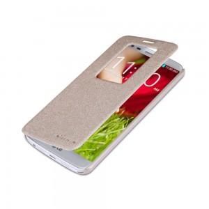 LG G2 - etui na telefon - Nillkin Sparkle złote