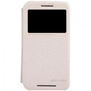 Motorola Moto E - etui na telefon - Nillkin Sparkle złote
