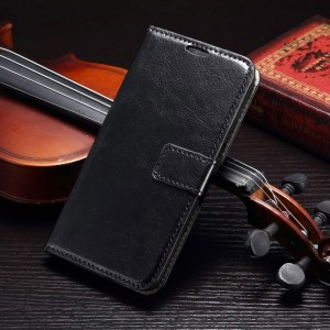 Samsung Galaxy S7 Edge - etui na telefon i dokumenty - CH czarne