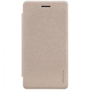 LG Zero H650 - etui na telefon - Nillkin Sparkle złote