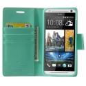 HTC Desire 700 Portfel Etui – Sonata Cyjan