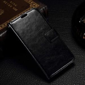 Microsoft Lumia 550 - etui na telefon i dokumenty - CH czarne