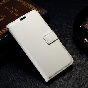 Microsoft Lumia 550 - etui na telefon i dokumenty - CH białe