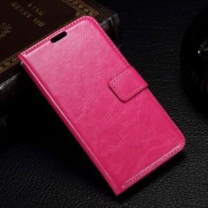 Microsoft Lumia 550 - etui na telefon i dokumenty - CH różowe