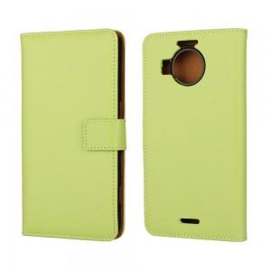 Microsoft Lumia 950 XL - etui na telefon i dokumenty - zielone