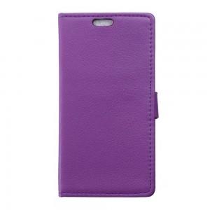 Microsoft Lumia 950 XL - etui na telefon i dokumenty - Litchi purpurowe